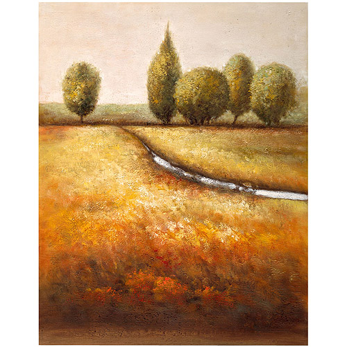 "Trademark Fine Art ""In the Country Triptych"" Canvas Art by Joval"