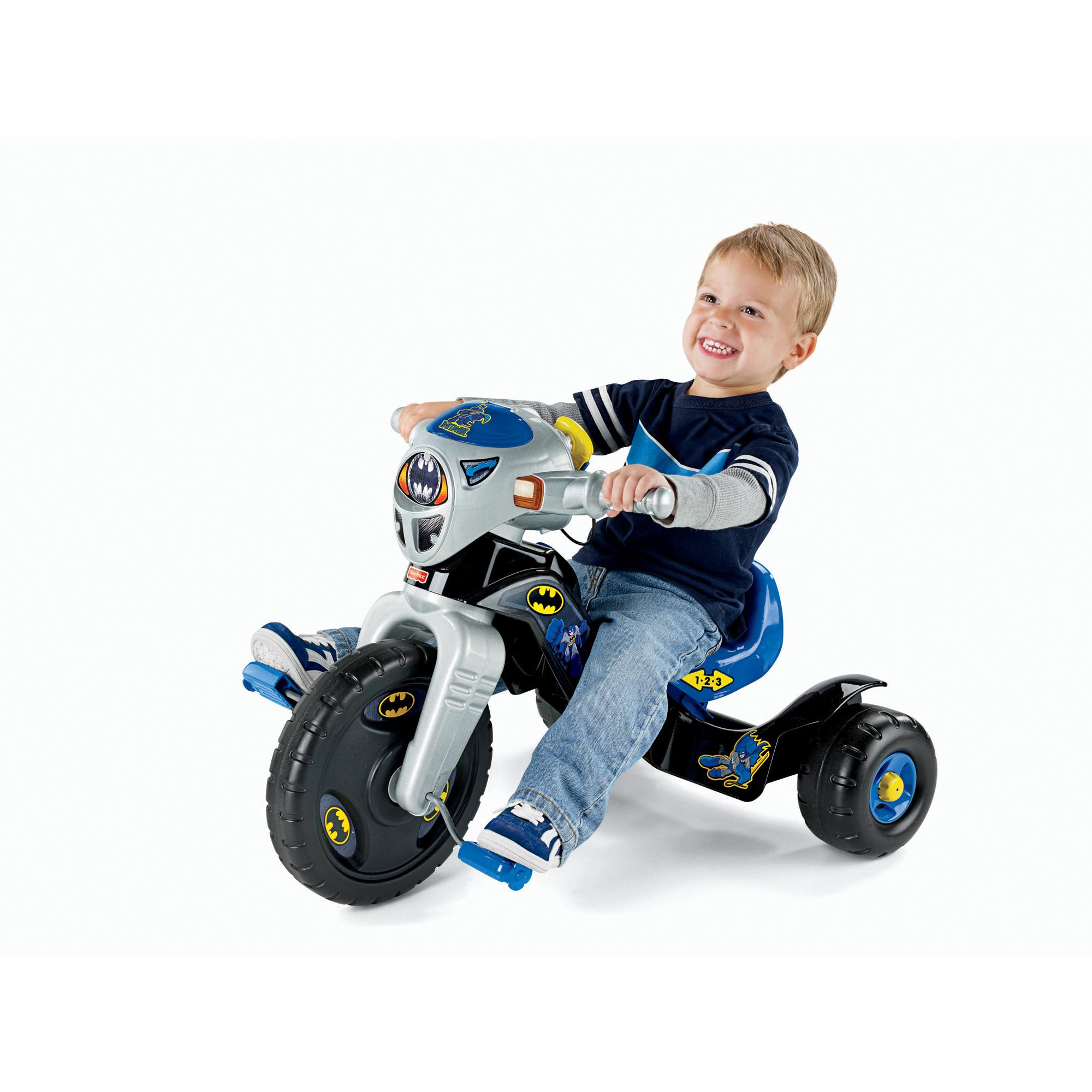 Fisher Price DC Super Friends Batman Lights & Sounds Trike by Generic
