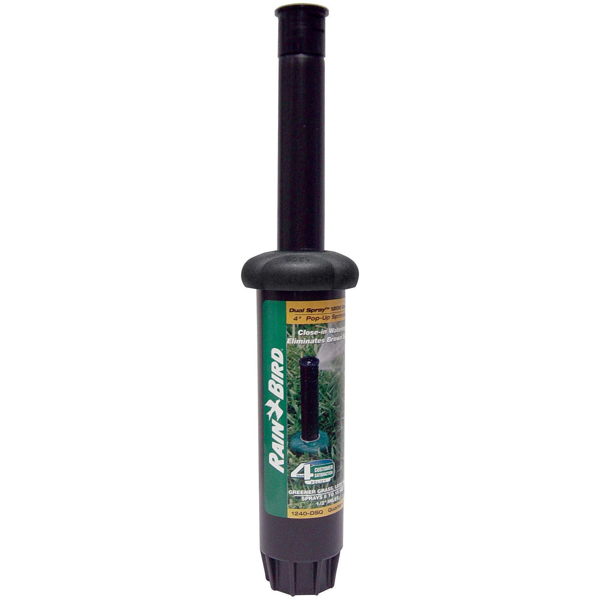 Rain Bird 1240DSQ Pop-Up Sprinkler Head, 19 to 32-ft Spray Radius by RAINBIRD
