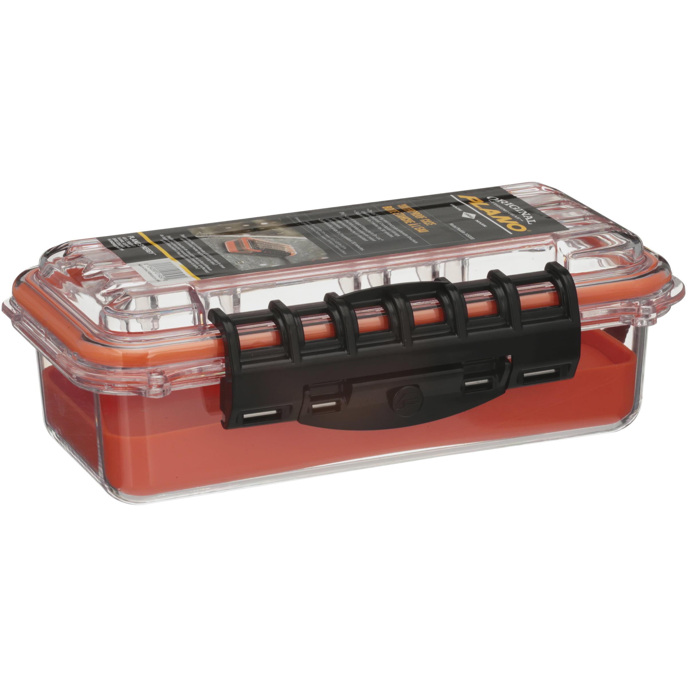 Plano #145000 Storage Box, Guide 3500, Orange/Clear