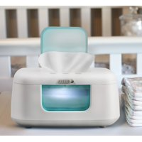 Baby Wipe Warmer & Dispenser with LED Changing Light & On/Off Switch by Jool Baby