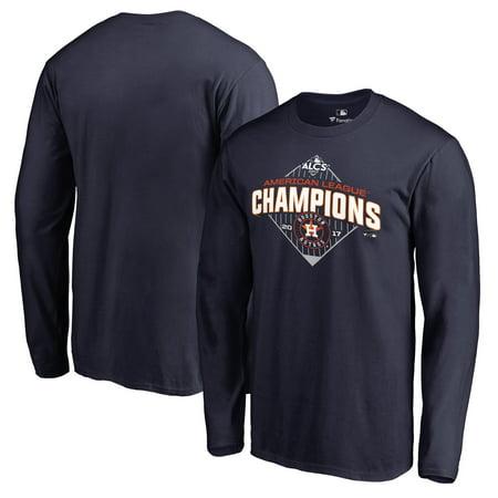 Houston Astros Fanatics Branded 2017 American League Champions Pennant Long Sleeve T-Shirt - Navy
