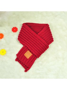 03b84438ad0 Product Image New Fashion Lovely Autumn Winter Boys Girls Baby Kid Solid  Scarf Warm Knitted Scarves WE