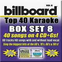 Party Tyme Karaoke: Billboard Top 40 Karaoke Box Set, Vol. 8 (CD)