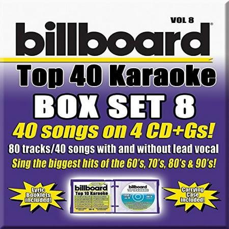 Party Tyme Karaoke: Billboard Top 40 Karaoke Box Set, Vol. 8