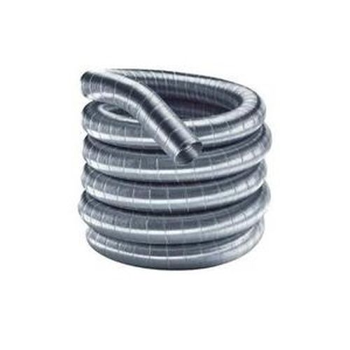 "Flex-All Single Ply Stainless Steel Custom Chimney Liner - 7"" x 35'"