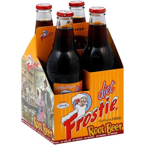 Diet Frostie Root Beer, 12 fl oz, (Pack of 6)