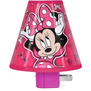 """Disney Minnie Mouse Shade Nightlight- 3.5""""H, Available in Many Other Characters"""