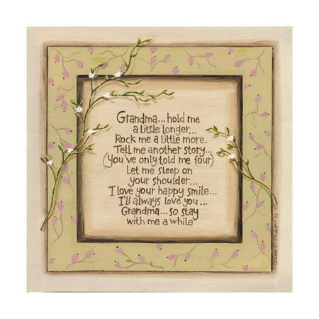Karen Tribett Paper - Hold Me Grandpa Print Wall Art By Karen Tribett