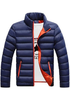 Winter Men's Warm Ultralight Puffer Down Parka High Neck Coat Jacket
