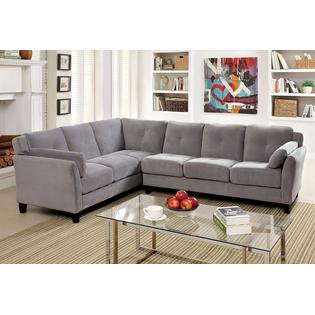 Lillesand Sectional Sofa Upholstered in Fabric ()