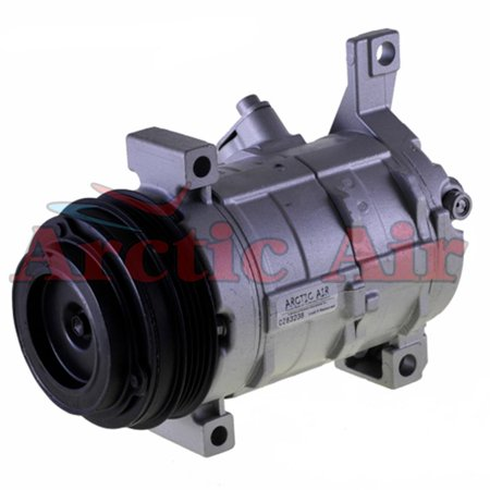Remanufactured Auto AC Compressor w/ Clutch for 03-09 Escalade 5.3L 6L Hybrid 6.2L 2010 Chevy Avalanche 5.3L 08-11 Chevy Silverado 1500 4.8L 5.3L 6L 6.2L 08-11 Chevy Silverado 2500 HD 3500 6.0L