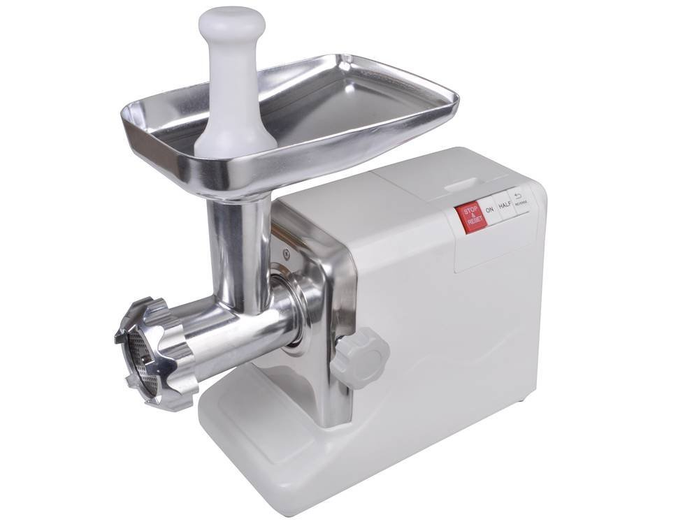 CALHOME Electric 2.6 HP 2000 Watt Industrial Meat Grinder Butcher Shop 3 Cutting Blades by CALHOME