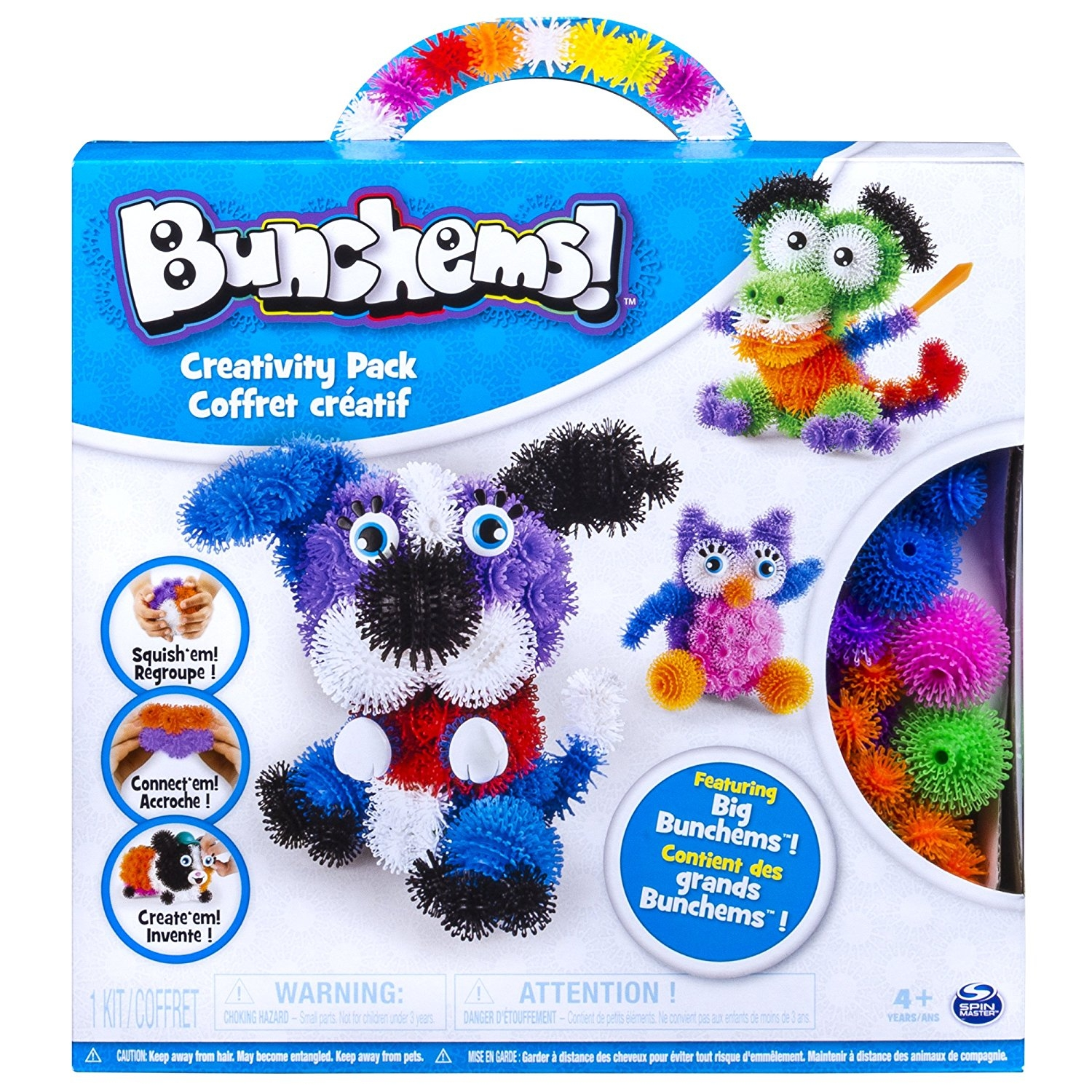 Spin Master Bunchems – Creativity Pack featuring Big Bunc...