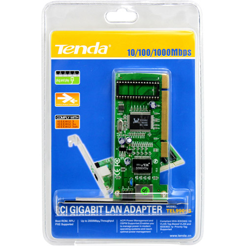 Tenda 10/100/1000Mbps Network Interface Card