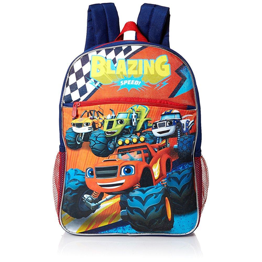Nickelodeon boys' blaze and the monster trucks backpack l...
