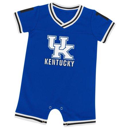Kentucky Wildcats UK Infant Romper Baby Boy Jersey Onepiece