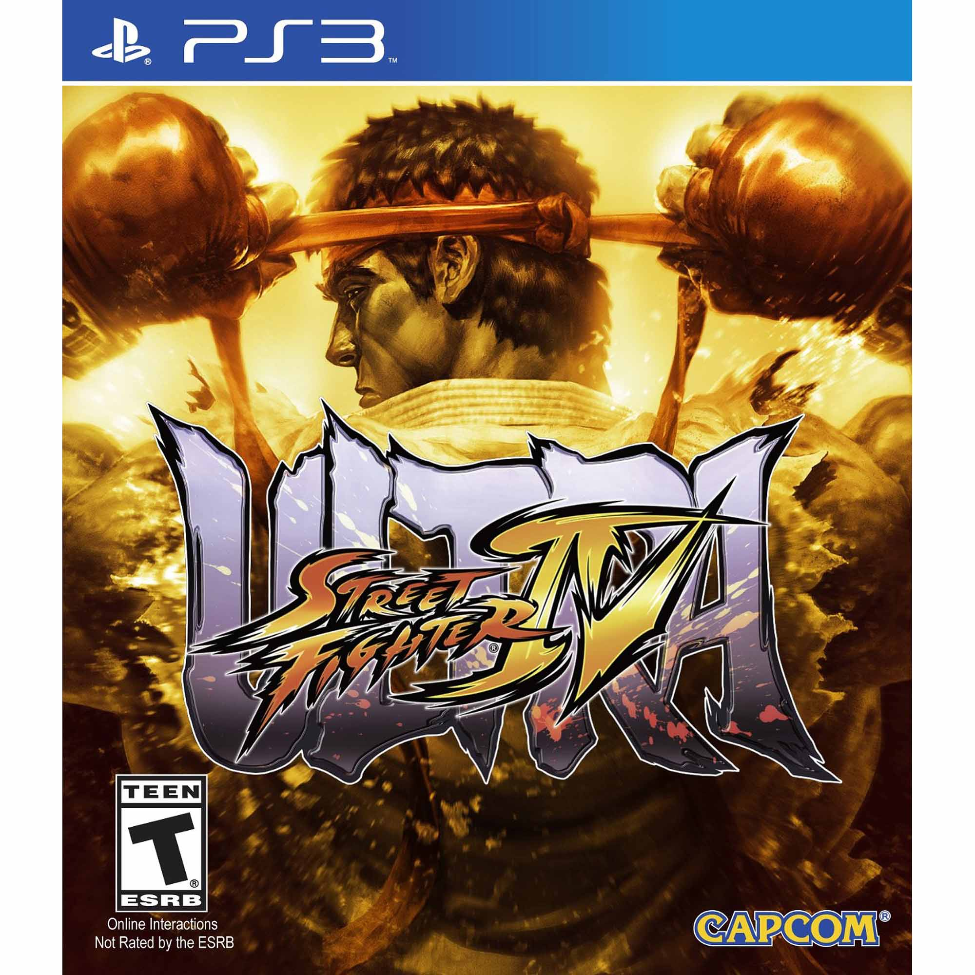 Ultra Street Fighter IV (PS3) 013388340774