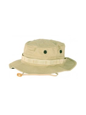 6f778ac9f3e Product Image Propper Cotton Military Tactical Boonie Hat w Adjustable Chin  Strap   Vent Holes
