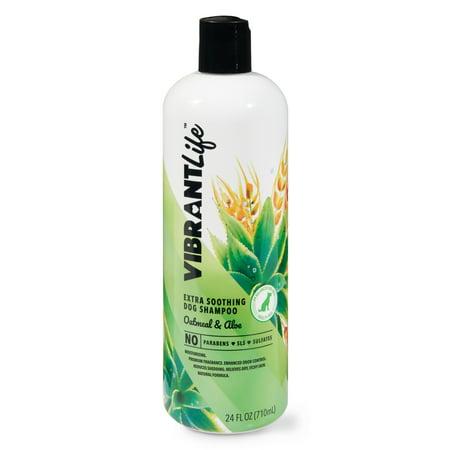 Vibrant Life Extra Soothing Dog Shampoo, Oatmeal & Aloe, 24 fl oz ()