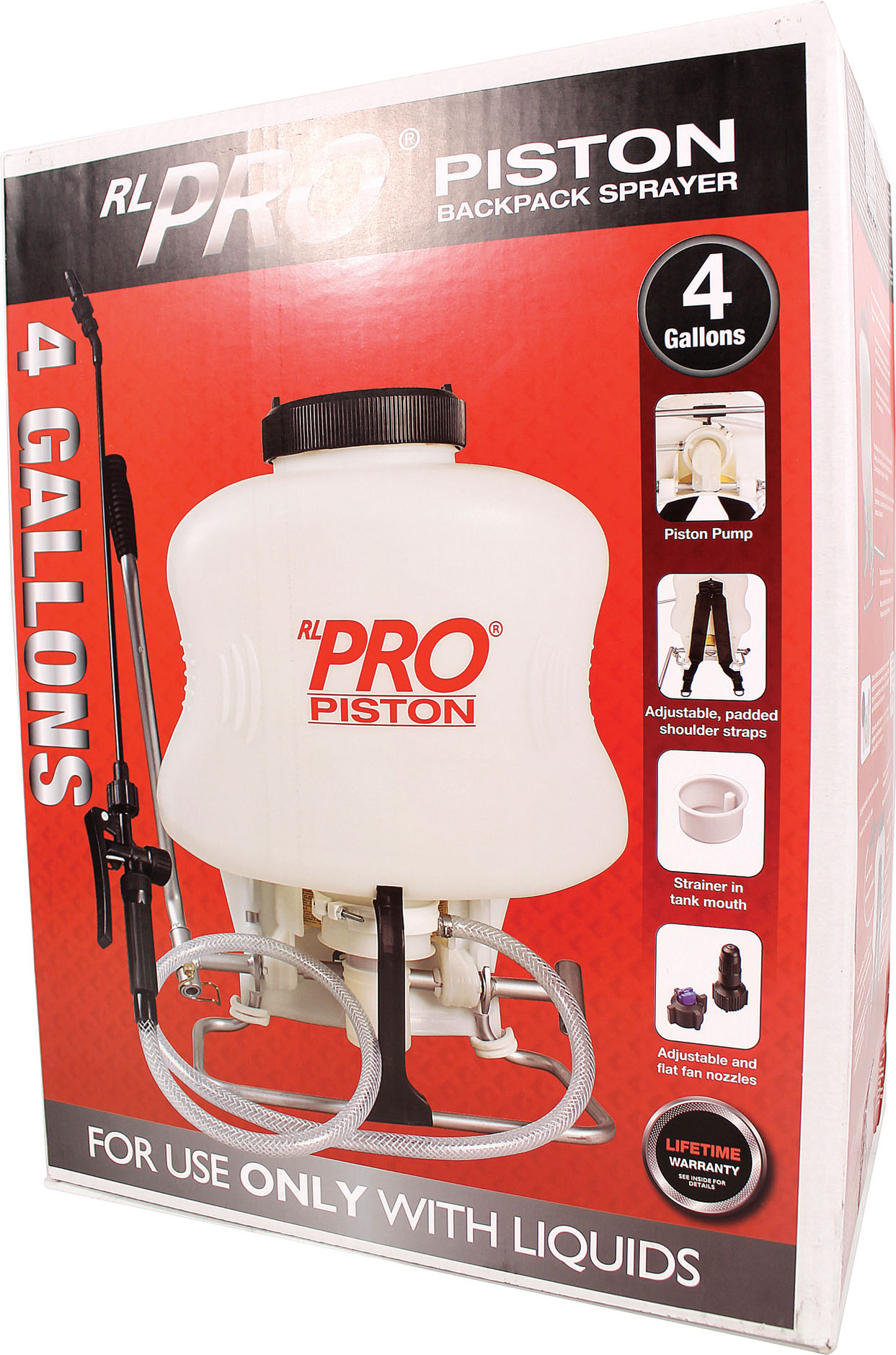 RL Flo-Master 4 Gallon Piston Backpack Sprayer by Root Lowell Manufacturing Co.
