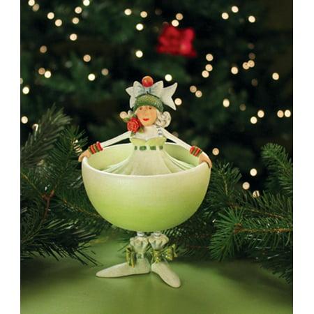 Patience Brewster Krinkles Marguerite Margarita Christmas Ornament - Patience Brewster Krinkles Marguerite Margarita Christmas Ornament