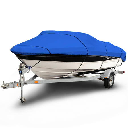 Budge 1200 Denier V-Hull Boat Cover, Waterproof, Premium Outdoor Protection for V-Hull Boats, Multiple (Best Waterproof Boat Cover)