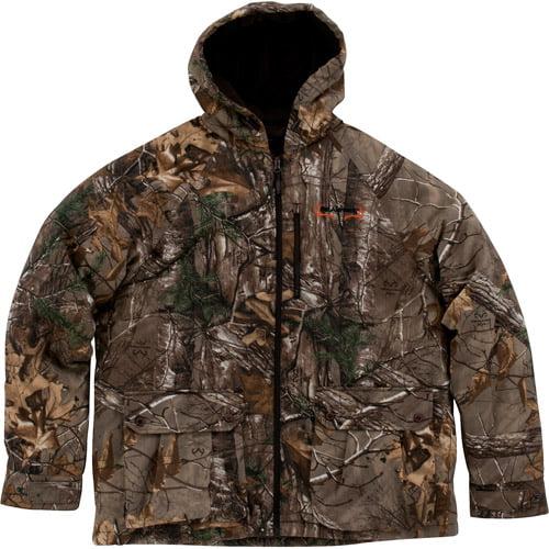 Realtree Xtra Men's Hooded Bomber Jacket