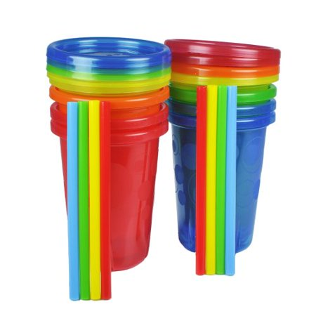 Discount Cups (The First Years Straw Cup, Take and Toss, 10 Ounce,,)