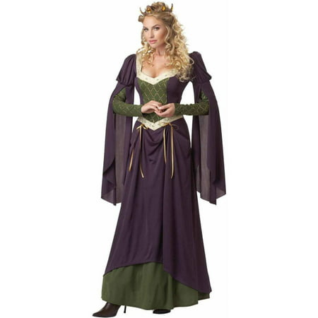 Salem In Halloween (Lady in Waiting Women's Adult Halloween)