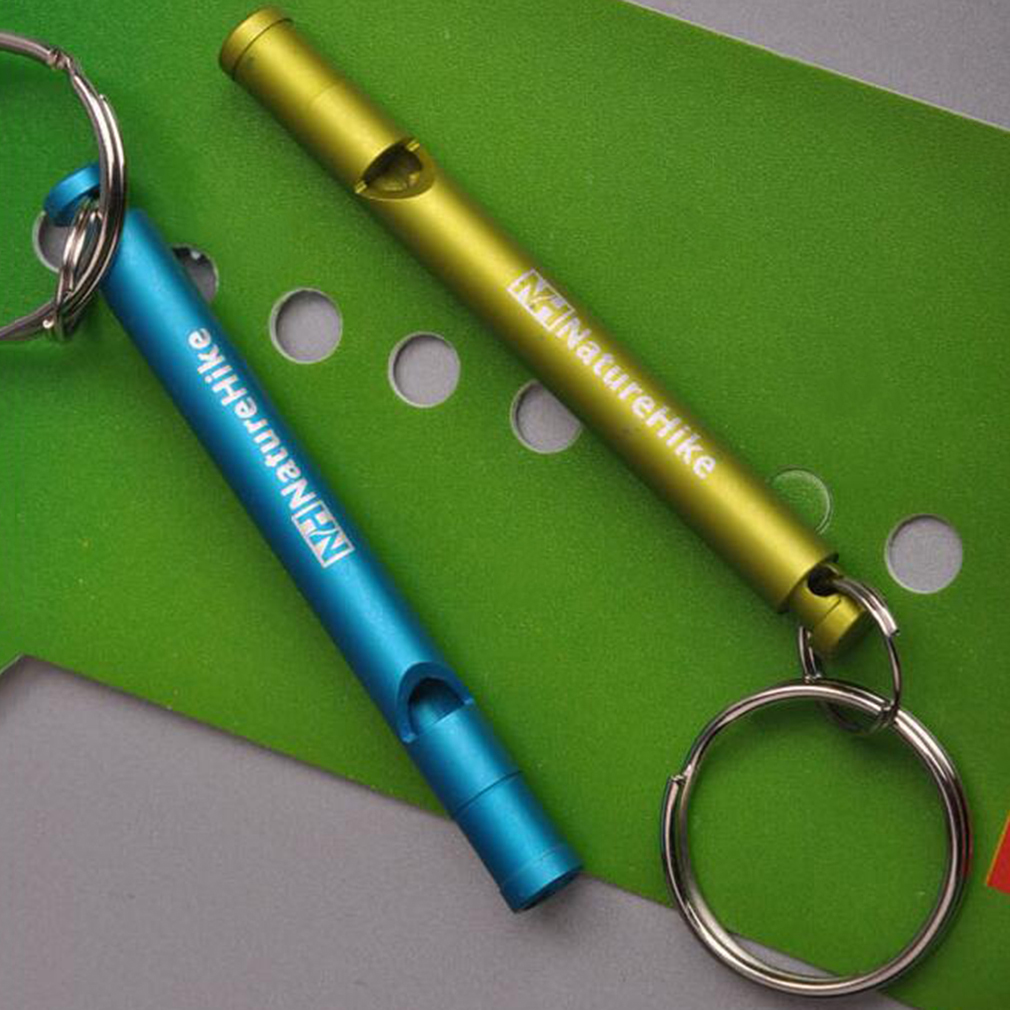 Survival Whistle Aluminum Whistle Emergency Camping Compass Kit Outdoor Gear