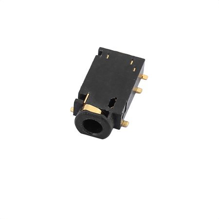 2.5mm Female Stereo Audio Socket Cell Phone Jack Connector 6 Pin PCB Mount