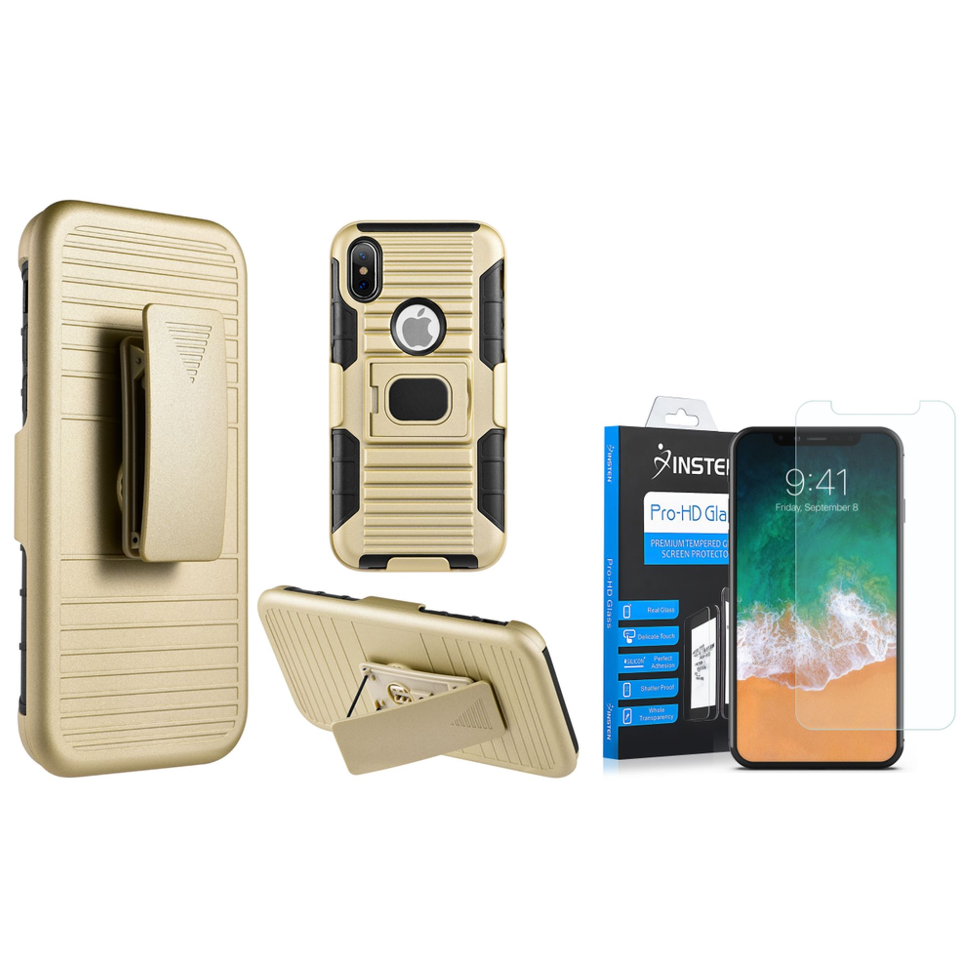 case for iphone insten mag defender shock absorbing dual layer hybrid 10342