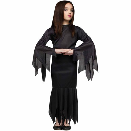 Family Crafts Halloween Costumes (Morticia Child Halloween)