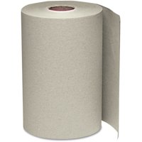 Windsoft Nonperforated Natural Paper Towel, 12 ct