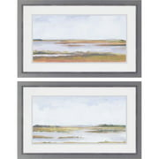 Paragon Wetland Panorama II by Harper 2 Piece Framed Painting Print Set
