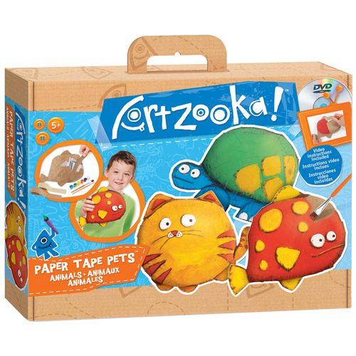 Artzooka Medium Kits with DVD, Tape-Ups