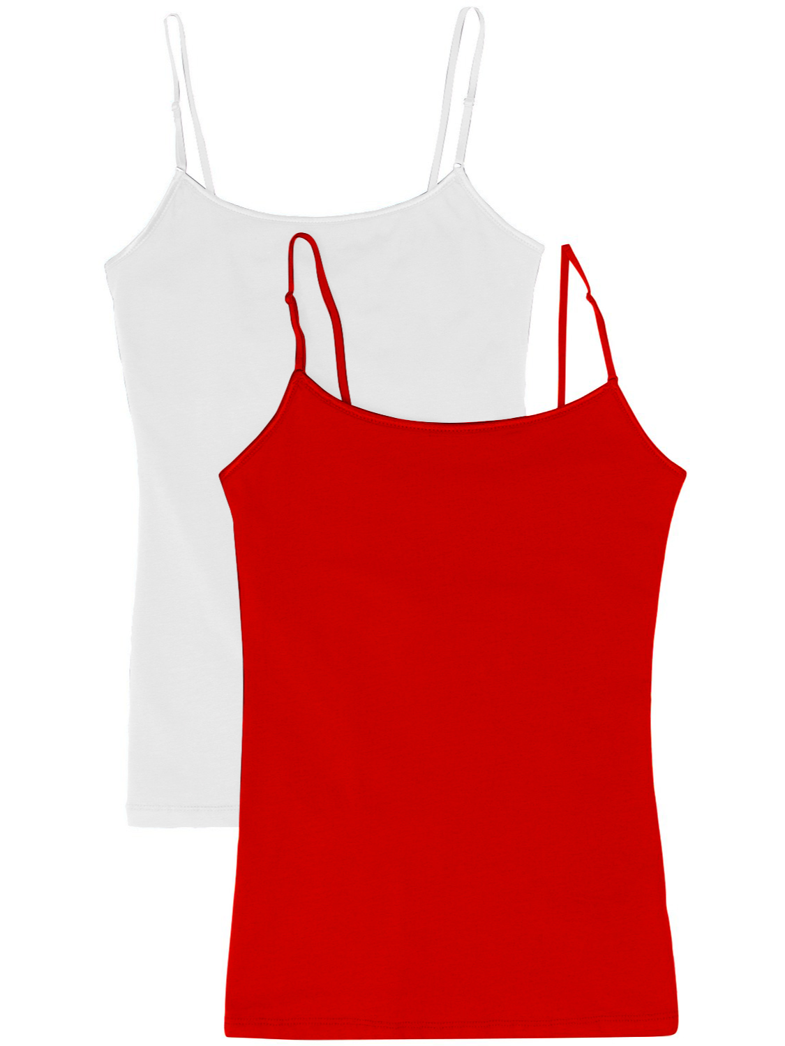 Women Camisole with Built in Shelf Bra Adjustable Spaghetti Strap Vest Tank Tops