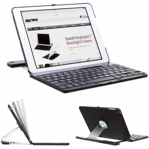 SHARKK Apple iPad Air 2 Wireless Bluetooth Keyboard and Case