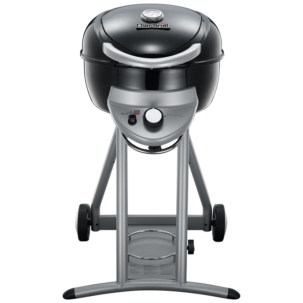 Char-Broil TRU-Infrared Patio Bistro Gas Grill, Black