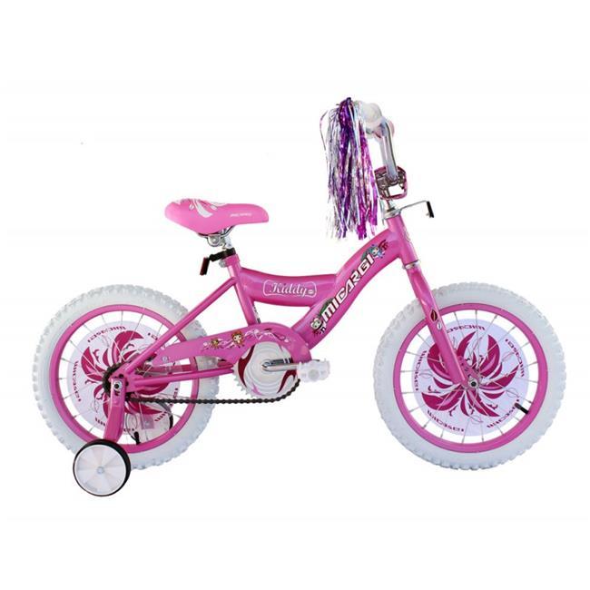Micargi KIDDY-G-PK 16 in. Girls BMX Bicycle, Pink