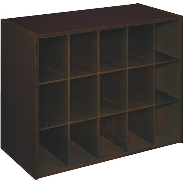 ClosetMaid Premium 9 Cube Organizer, Dark Chestnut   Walmart.com