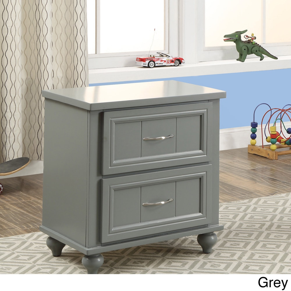 Furniture of America Alicia Traditional 2-drawer Kids Nightstand by FOA