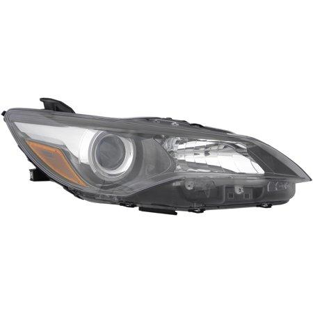2017 Toyota Camry Se Xse Penger Right Side Black Headlight Lamp