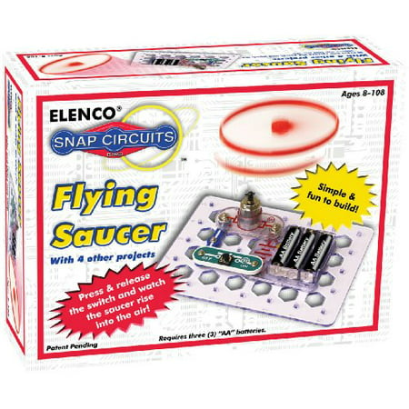 Elenco Snap Circuits Flying Saucer - Snap Circuit Lights