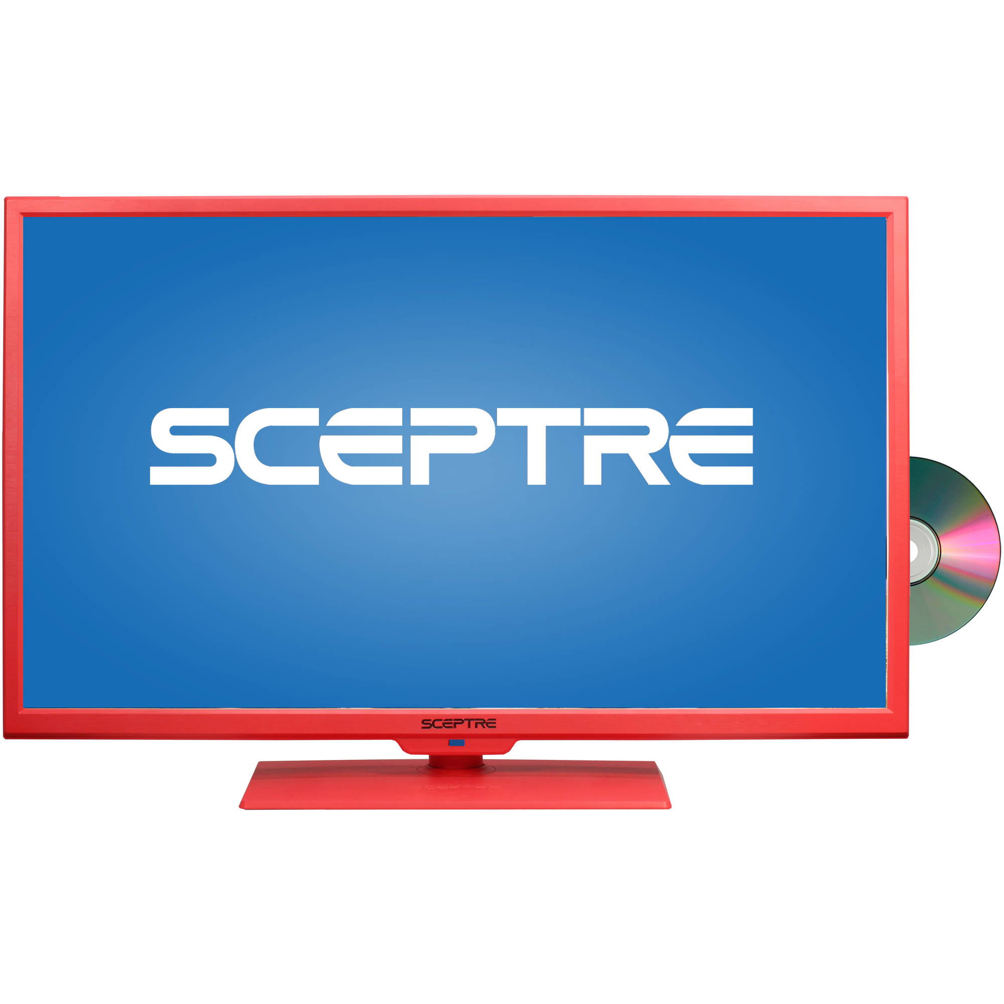 """Sceptre 32"""" 720p 60Hz Class LED HDTV with Built-In DVD Player, Assorted Colors"""
