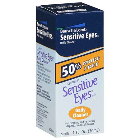 Bausch & Lomb Sensitive Eyes Daily Cleaner, 1 fl oz