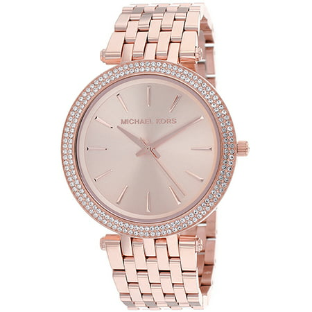 9ddd05977bf7a Michael Kors - Women s Darci Rose Gold Stainless Steel Watch MK3192 -  Walmart.com