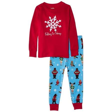 Hatley Little Girls'  Pajama Set - Falling To Sleep