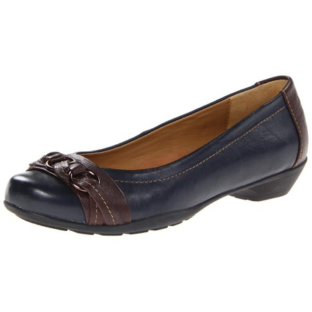 Softspots Womens Posie Closed Toe Loafers Black Stylish Women Leather